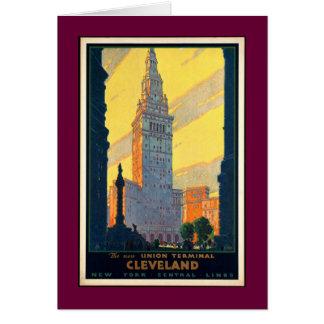 Cartão Vintage Cleveland