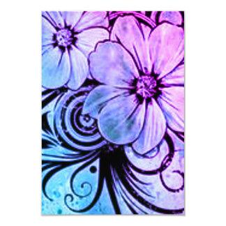 Cartão Vintage floral