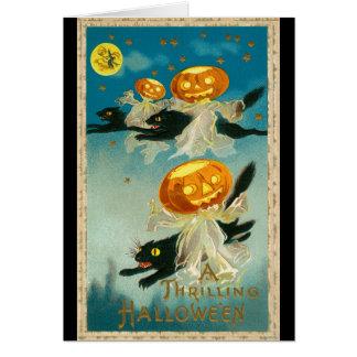 Cartão Vintage Haloween 1910