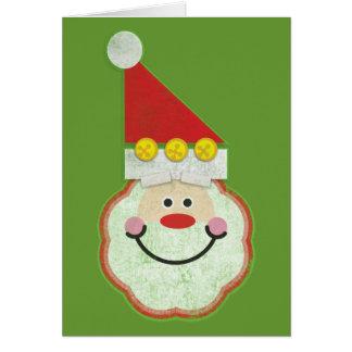 Cartão Vintage Papai Noel - St. Nick