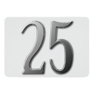 Cartão Vinte cinco