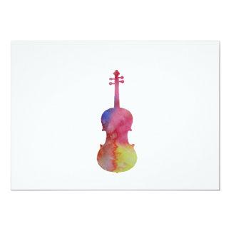 Cartão Viola