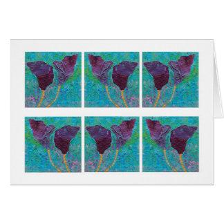 Cartão Violetas do primavera…