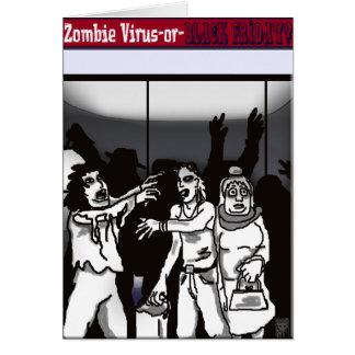 Cartão vírus do zombi?