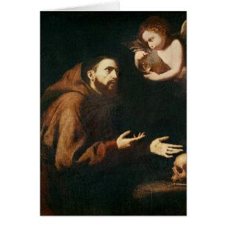 Cartão Visão de St Francis de Assisi