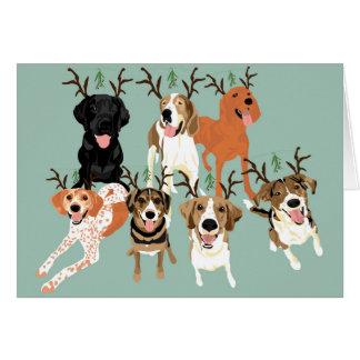 Cartão Visco do cão