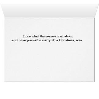 Cartão Visões dos Sugarplums…
