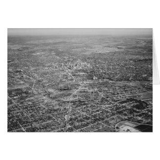 Cartão Vista aérea de San Antonio, 1939