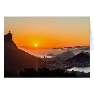 Cartão Vista Chinesa, Rio de Janeiro, Brasil