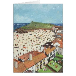 Cartão Vista da galeria St Ives de Tate
