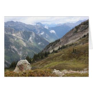 Cartão Vista de Silvercup, Columbia Britânica, Canadá