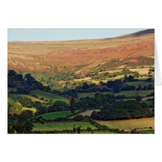 Cartão Vista do vale