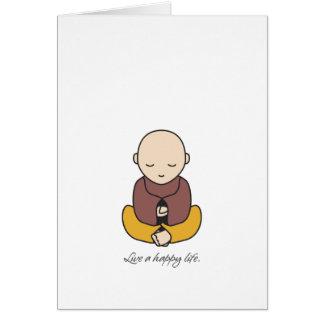 Cartão Vive uma vida feliz