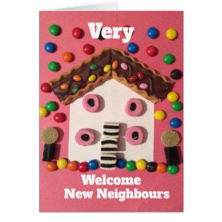 Cartão Vizinhos novos bem-vindos de Overy