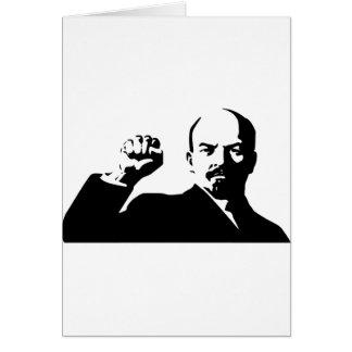 Cartão Vladimir Lenin