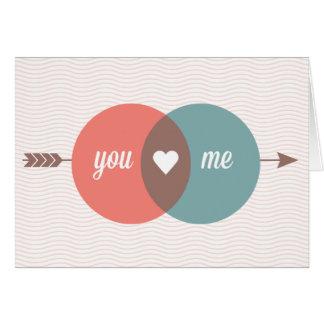 Cartão Você ama-me