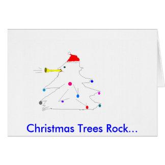 Cartão Você balança o Natal Notecards