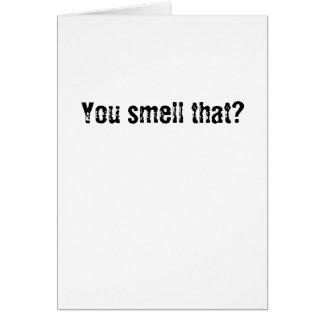 Cartão Você cheira aquele?