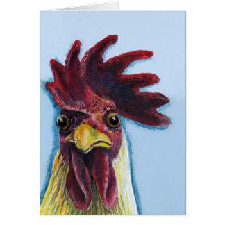 Cartão Você disse a galinha?