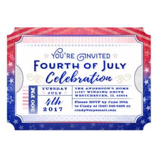 Cartão Você é 4o convidado do bilhete da celebração de