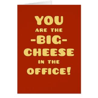 Cartão Você é a Queijo-Parabéns-Promoção GRANDE