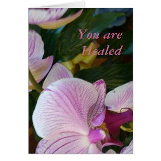 Cartão Você é curado