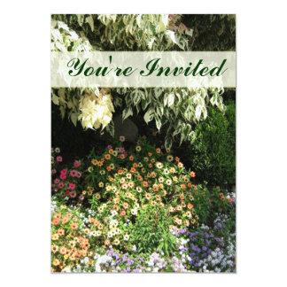 Cartão Você é jardim convidado