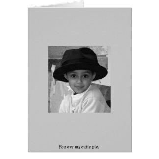 Cartão Você é minha torta do cutie