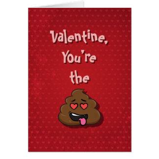 Cartão Você é os namorados do tombadilho