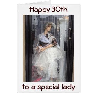 Cartão VOCÊ é UM MODELO PARA o aniversário de 30 anos dos