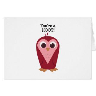Cartão Você é uma buzina