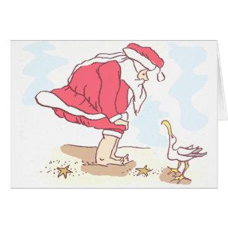 Cartão Você foi uma boa gaivota?