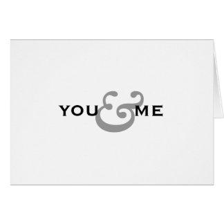 Cartão Você & mim