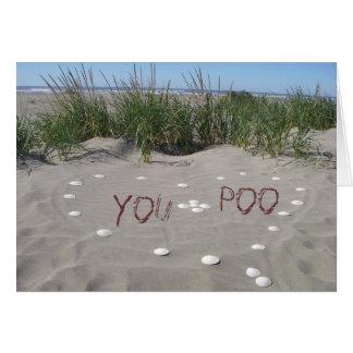 Cartão Você + Poo = <3