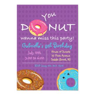 Cartão Você ROSQUINHA quer aos partys girl da senhorita