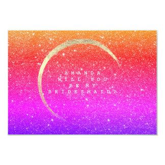 Cartão Você será meu brilho do ouro do arco-íris da dama