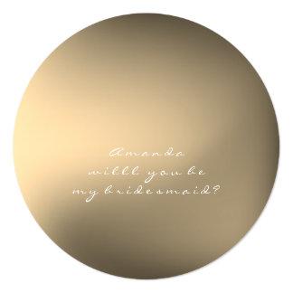 Cartão Você será meu ouro do Sepia da bola de Ombre da