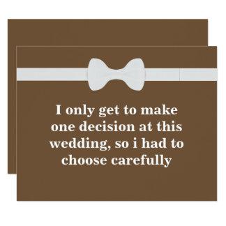 Cartão Você será meu padrinho de casamento?