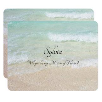 Cartão Você será minha nota nupcial feita sob encomenda