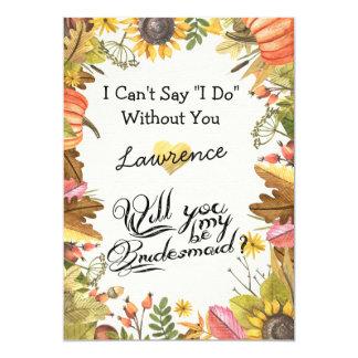 Cartão Você será minhas folhas da queda do bordo do