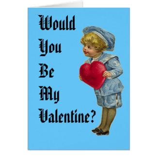 Cartão Você seria meus namorados?