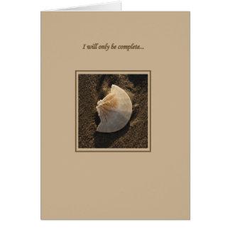 Cartão Você termina-me