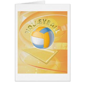Cartão Voleibol