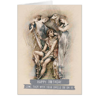 Cartão Voltado com seu protetor ou nele!
