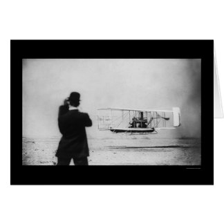 Cartão Vôo 1909 do avião de Wilbur Wright
