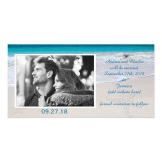 Cartão Votos litorais que Wedding economias a data