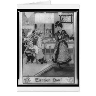Cartão Votos para mulheres!
