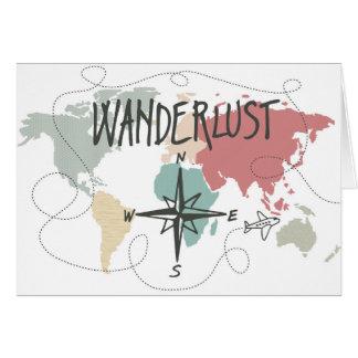 Cartão Wanderlust