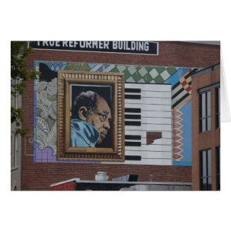 Cartão Washington DC, arte de construção, reformista