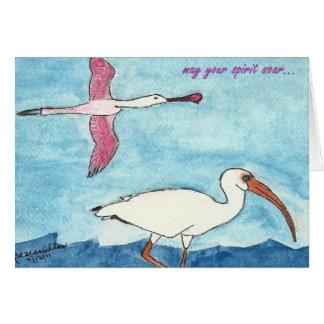 Cartão waterbirds….pelo peacewillow